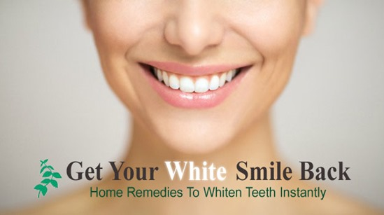home remedies to whiten teeth instantly