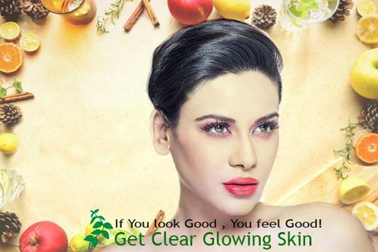get clear glowing skin