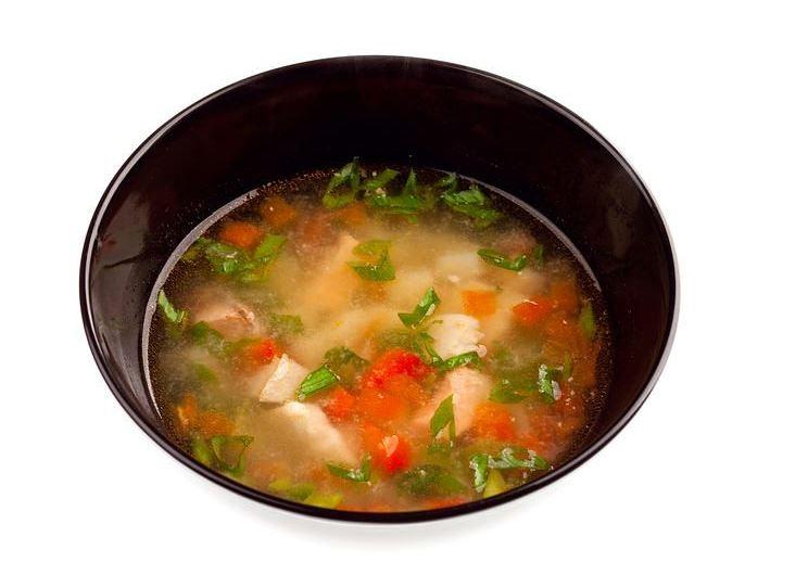 healthy stew made from vegetable peels