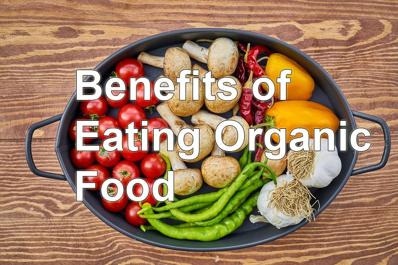 organic food benefit Remember that organic doesn't always equal healthy -making junk food sound healthy is a common marketing ploy in the food industry but organic baked goods, desserts, and snacks are usually still very high in sugar, salt, fat, or calories it pays to read food labels carefully.