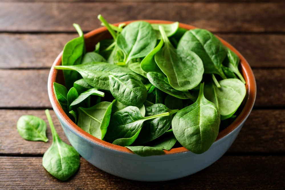 Spinach is the best immune boosting food